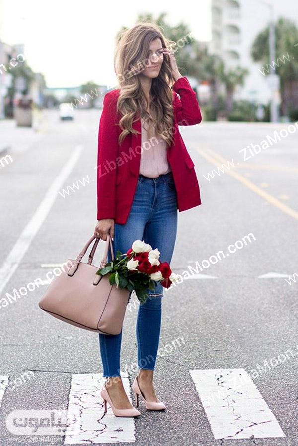 استایل زنانه برای ولنتاین