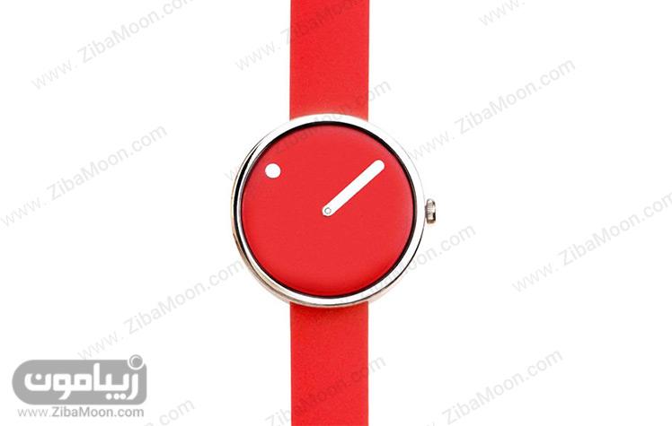 ساعت زنانه قرمز رنگ