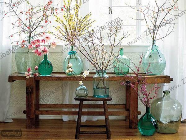 گلدان گل های زیبا برای دکوراسیون خانه