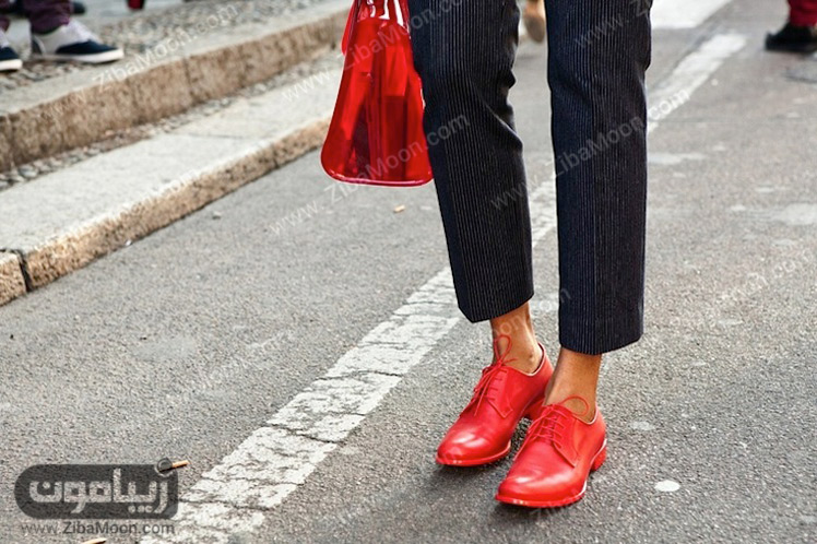 کیف و کفش قرمز