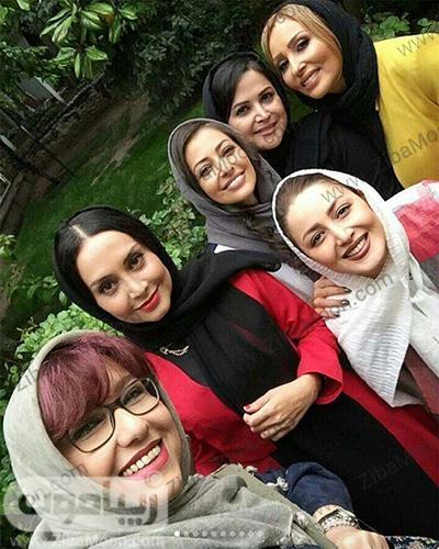 بازیگران زن در مراسم عطر بهاره رهنما