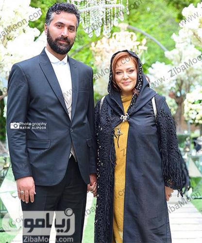 بهاره رهنما و همسرش در مراسم عطر