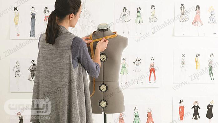 طراح لباس و مانکن