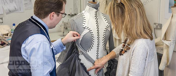 طراح لباس و همکارانش