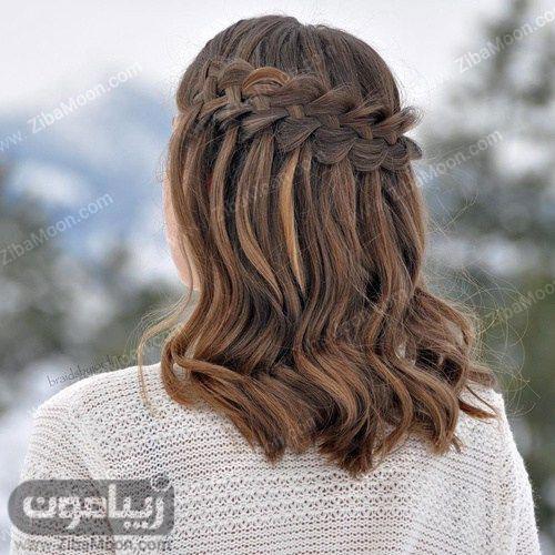 مدل بافت مو آبشاری