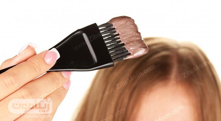 رنگ کردن موها