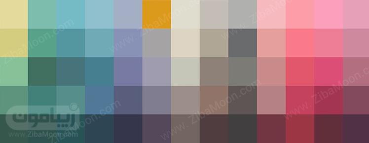 رنگ های یکپارچه