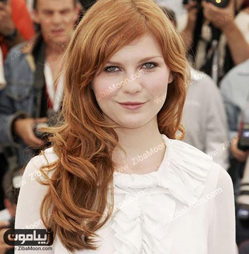 رنگ مو دارچینی روشن و زیبا