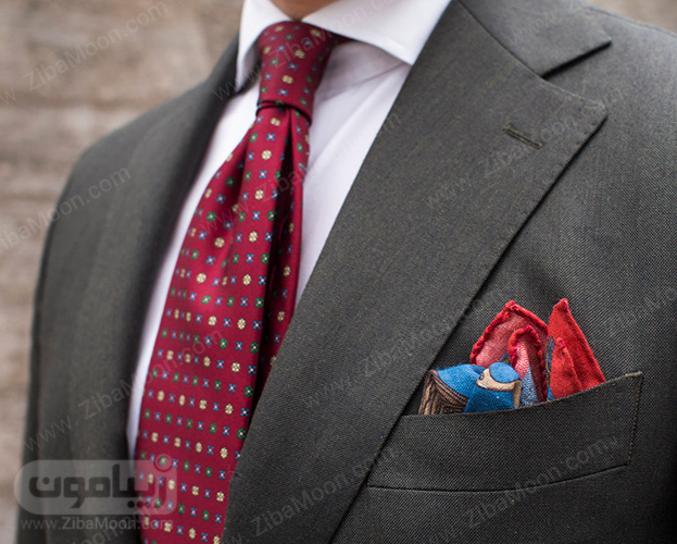 دستمال جیبی و کراوات