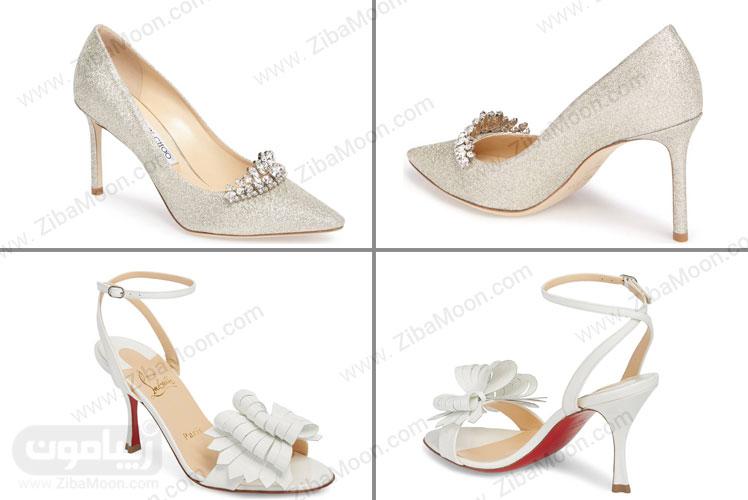 مدل های زیبای کفش عروس