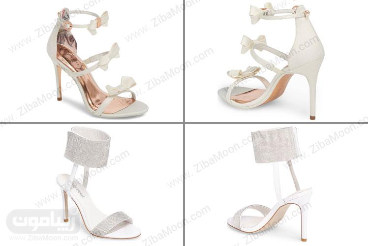 کفش عروس لاکچری کار شده