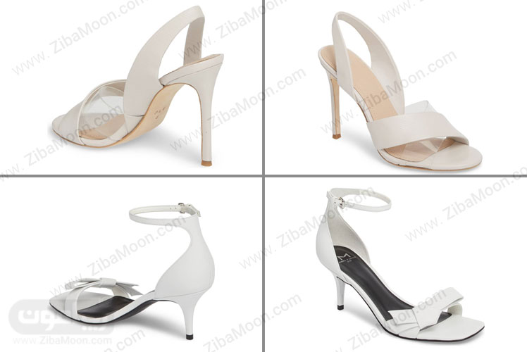کفش عروس پاشنه بلند و کفش عروس پاشنه کوتاه