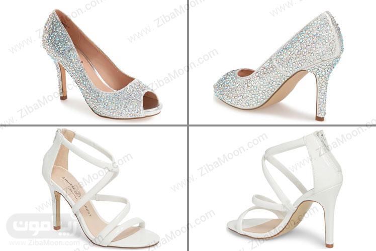 کفش عروس پاشنه بلند