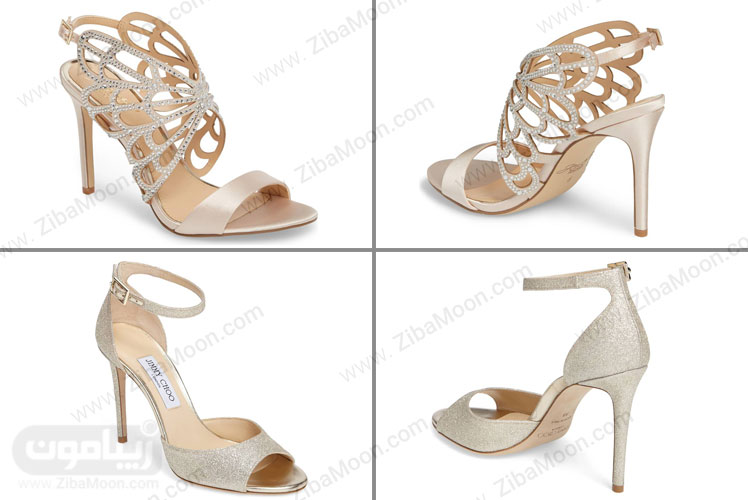 کفش لاکچری عروس