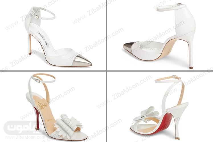 کفش پاشنه بلند لاکچری عروس
