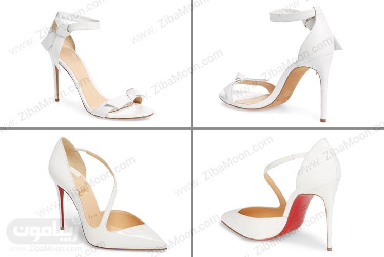 کفش پاشنه بلند مدرن عروس