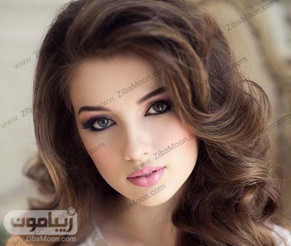 آرایش عروس با رژلب صورتی
