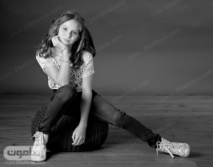 مدل دختر