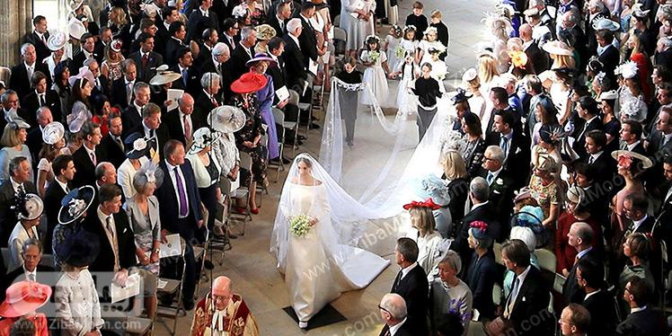 مراسم عروسی پرنس هری و مگان مارکل