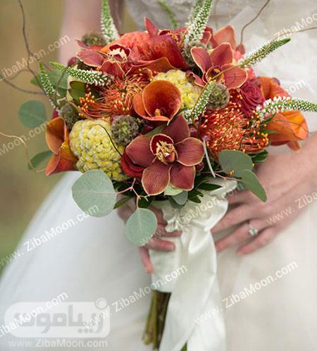 دسته گل فانتزی و شیک عروس