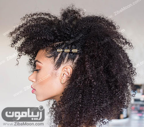 بافت مو در کنار سر