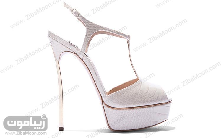 کفش سینه لژدار عروس