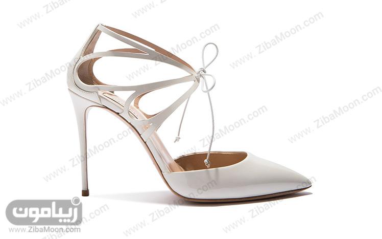 کفش عروس با مدل بال پروانه