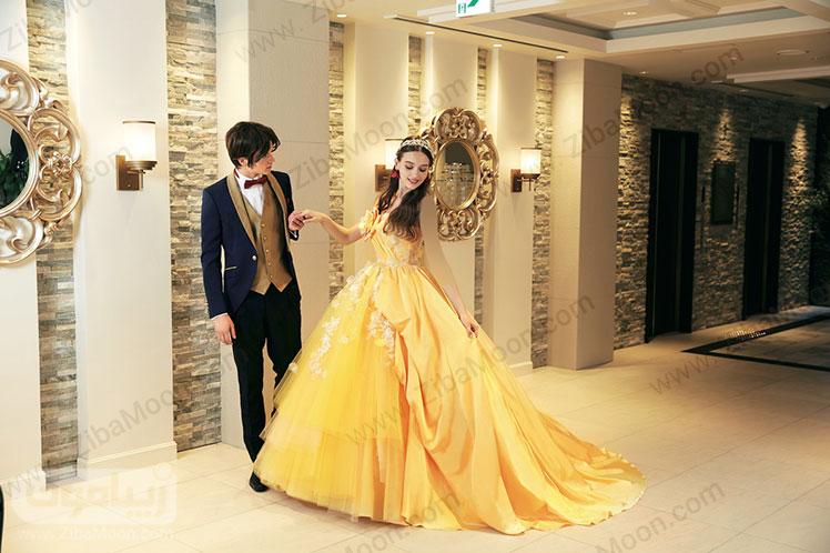 لباس عروسی بل