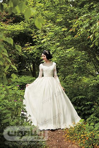 لباس عروسی سفید برفی