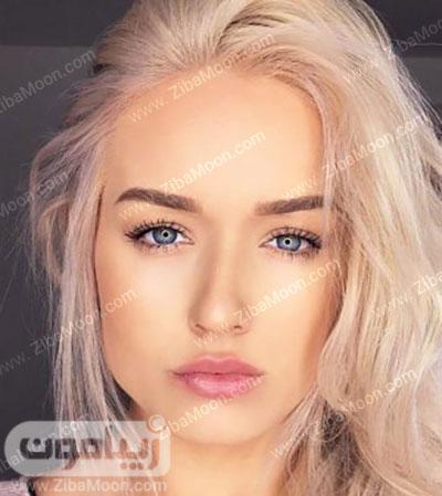 آرایش طبیعی و زیبا