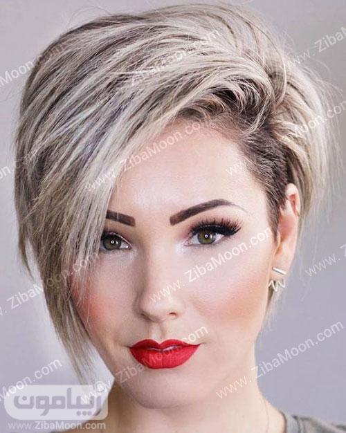 مدل مو کوتاه زنانه و مدرن