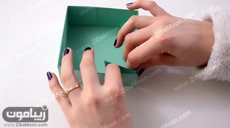 درست کردن جعبه مقوایی