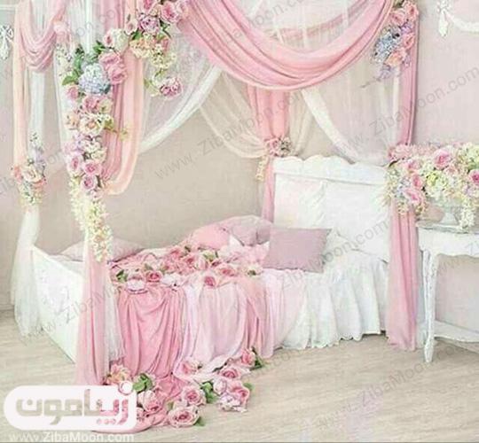 اتاق خواب زیبای عروس