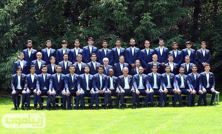 تمام افراد تیم ملی ایران