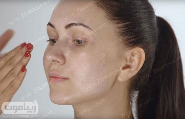 پرایمر زدن روی پوست