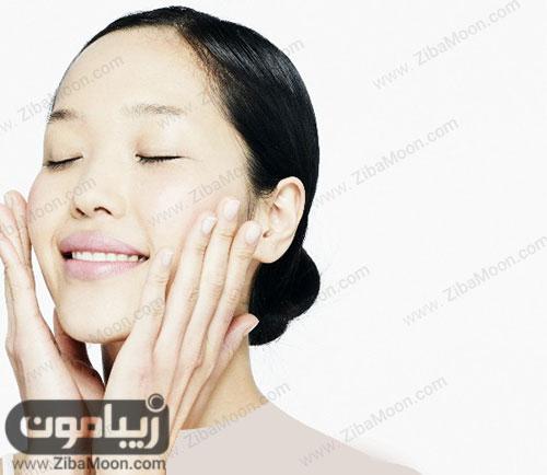 مرطوب کردن پوست صورت