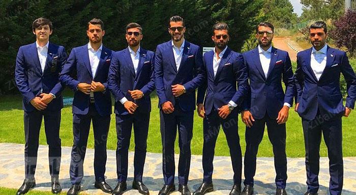 کت و شلوار تیم ملی فوتبال ایران 2018