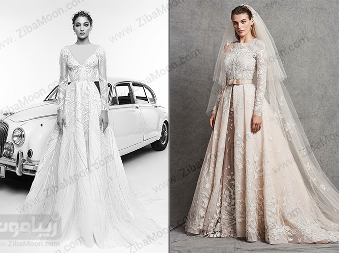 لباس عروس زهیر مراد