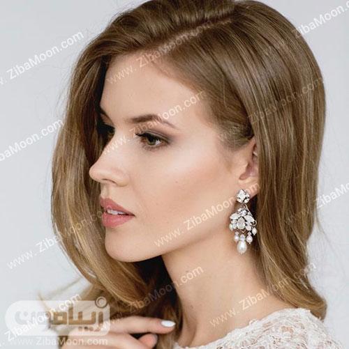 آرایش عروس اروپایی ساده و شیک