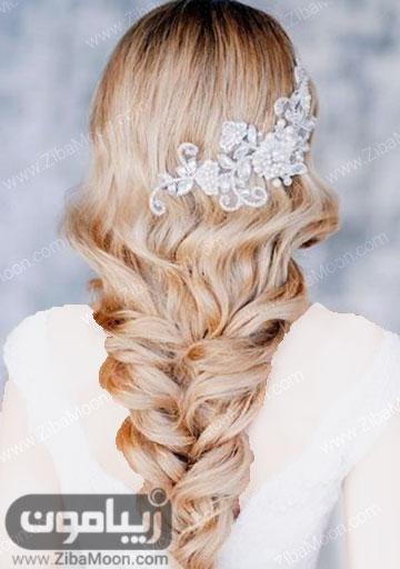 شینیون مو باز اکسسوری زیبا