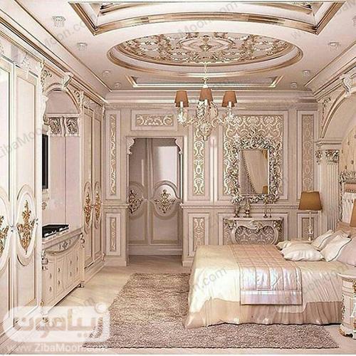 اتاق خواب سوپر لاکچری عروس