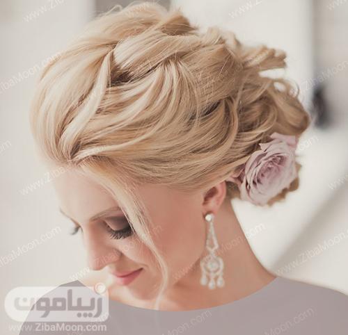 مدل مو شیک و خاص برای عروس خانوم ها