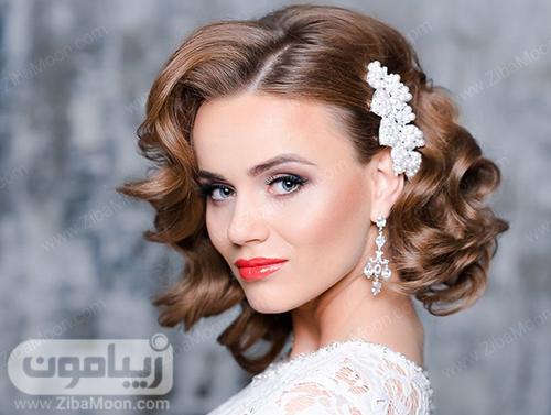مدل مو کوتاه برای عروس