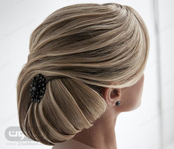 شینیون موی بلوند