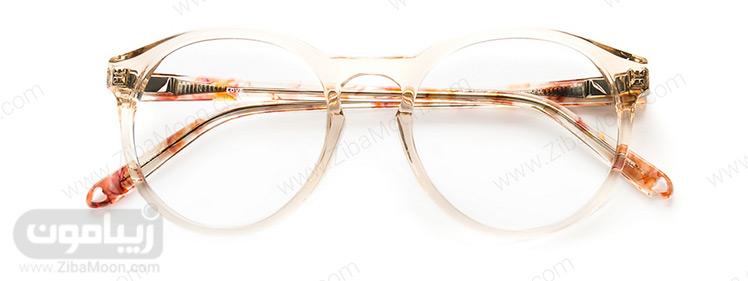عینک طبی گرد
