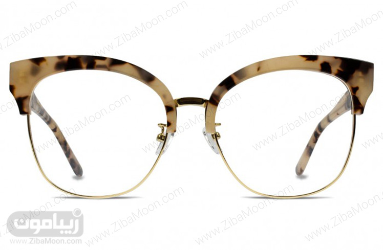 مدل عینک طبی با طراحی فریم خاص