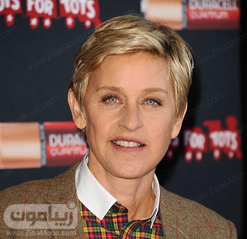 مدل مو Ellen Degeneres
