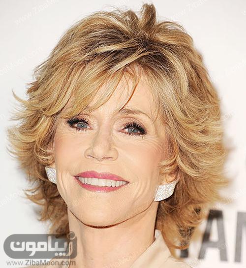 مدل مو Jane Fonda