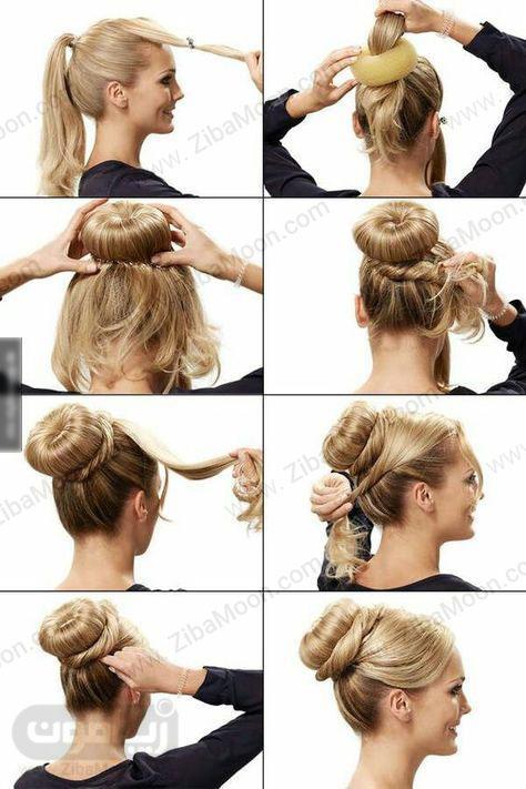 آموزش مدل مو گوجه ای شیک