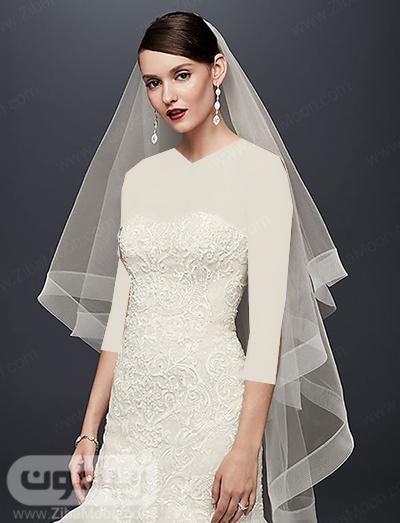 تور عروس حریری